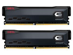 GeIL ORION AMD Edition 32GB (2 x 16GB) 288-Pin DDR4 SDRAM DDR4 3000 (PC4 24000) Intel XMP 2.0 Desktop Memory Model GAOG432GB3000C16ADC