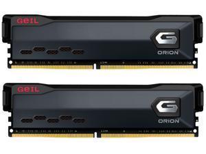 GeIL ORION AMD Edition 16GB (2 x 8GB) 288-Pin DDR4 SDRAM DDR4 3600 (PC4 28800) Intel XMP 2.0 Desktop Memory Model GAOG416GB3600C18BDC