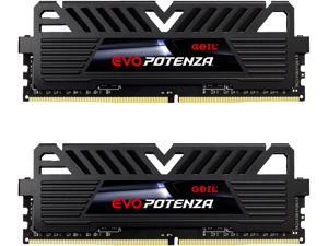GeIL EVO POTENZA AMD 32GB (2 x 16GB) 288-Pin DDR4 SDRAM DDR4 3200 (PC4 25600) Intel XMP 2.0 Desktop Memory Model GAPB432GB3200C16BDC