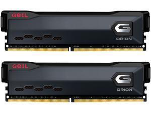 GeIL ORION AMD Edition 32GB (2 x 16GB) 288-Pin DDR4 SDRAM DDR4 3200 (PC4 25600) Intel XMP 2.0 Desktop Memory Model GAOG432GB3200C16BDC