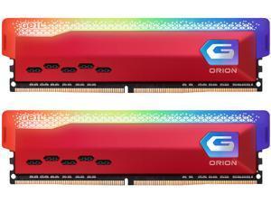 GeIL ORION RGB AMD Edition 32GB (2 x 16GB) 288-Pin DDR4 SDRAM DDR4 3200 (PC4 25600) Desktop Memory Model GAOSR432GB3200C18ADC