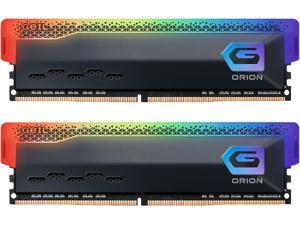 GeIL ORION RGB AMD Edition 32GB (2 x 16GB) 288-Pin DDR4 SDRAM DDR4 3200 (PC4 25600) Desktop Memory Model GAOSG432GB3200C16BDC