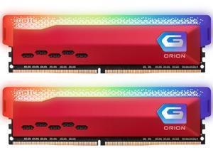 GeIL ORION RGB AMD Edition 16GB (2 x 8GB) 288-Pin DDR4 SDRAM DDR4 3200 (PC4 25600) Intel XMP 2.0 Desktop Memory Model GAOSR416GB3200C16BDC