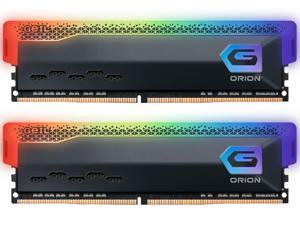 GeIL ORION RGB AMD Edition 16GB (2 x 8GB) 288-Pin DDR4 SDRAM DDR4 3200 (PC4 25600) Intel XMP 2.0 Desktop Memory Model GAOSG416GB3200C16BDC