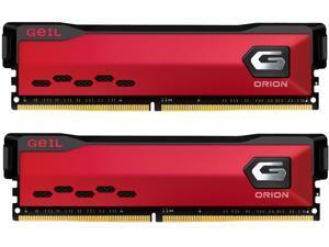 GeIL ORION AMD Edition 16GB (2 x 8GB) 288-Pin DDR4 SDRAM DDR4 3200 (PC4 25600) Intel XMP 2.0 Desktop Memory Model GAOR416GB3200C16BDC