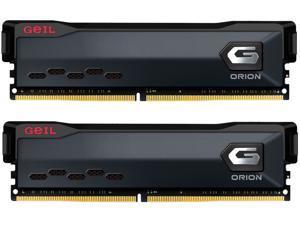 GeIL ORION AMD Edition 16GB (2 x 8GB) 288-Pin DDR4 SDRAM DDR4 3200 (PC4 25600) Intel XMP 2.0 Desktop Memory Model GAOG416GB3200C16BDC