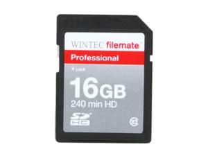 WINTEC FileMate 16GB Professional Class 10 Secure Digital SDHC Card - Retail