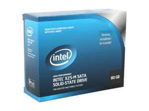"""Intel X25-M 2.5"""" 80GB SATA II MLC Internal Solid State Drive (SSD) SSDSA2MH080G2K5"""