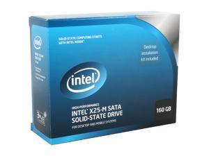 """Intel X25-M 2.5"""" 160GB SATA II MLC Internal Solid State Drive (SSD) SSDSA2MH160G2K5"""