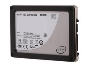 "Intel 520 Series Cherryville 2.5"" 180GB SATA III MLC Internal Solid State Drive (SSD) SSDSC2CW180A310"