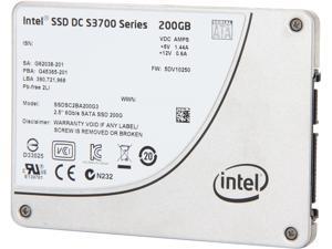 """Intel DC S3700 Series Taylorsville SSDSC2BA200G301 2.5"""" 200GB SATA III MLC Internal Solid State Drive (SSD)"""