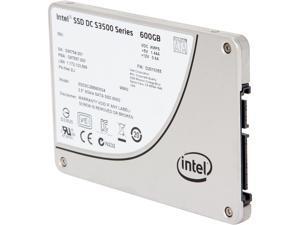 """Intel DC S3500 SSDSC2BB600G401 2.5"""" 600GB SATA 3.0 6Gb/S MLC Solid State Drive"""