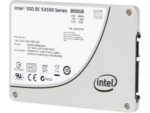 """Intel DC S3500 SSDSC2BB800G401 2.5"""" 800GB SATA 6Gb/s MLC Solid State Drive"""