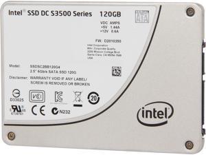 """Intel DC S3500 SSDSC2BB120G401 2.5"""" 120GB SATA 3.0 6Gb/S MLC Solid State Drive"""