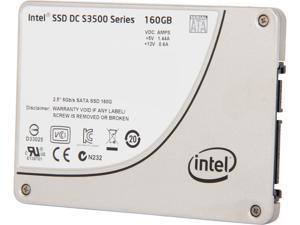 """Intel DC S3500 SSDSC2BB160G401 2.5"""" 160GB SATA 3.0 6Gb/S MLC Solid State Drive"""