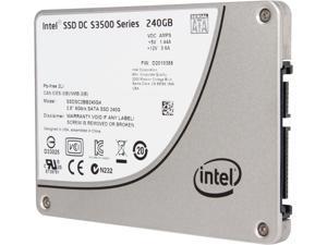 """Intel DC S3500 SSDSC2BB240G401 2.5"""" 240GB SATA 3.0 6Gb/S MLC Solid State Drive"""