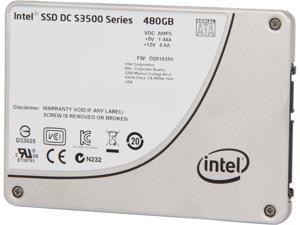 """Intel DC S3500 SSDSC2BB480G401 2.5"""" 480GB SATA 3.0 6Gb/S MLC Solid State Drive"""