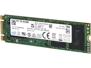 Intel 545s M.2 2280 256GB SATA III 64-Layer 3D NAND TLC Internal Solid State Drive (SSD) SSDSCKKW256G8X1