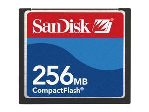 SanDisk 256MB Compact Flash (CF) Flash Card Model SDCFB-256-A10