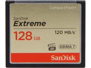 SanDisk 128GB Compact Flash (CF) Memory Card Model SDCFXS-128G-A46
