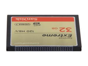 SanDisk 32GB Compact Flash (CF) Flash Card Model SDCFXS-032G-A46