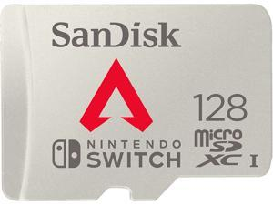 SanDisk 128GB microSDXC Memory Card for Nintendo Switch, Apex Legends Edition, Speed Up to 100MB/s (SDSQXAO-128G-GN6ZY)