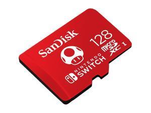 SanDisk 128GB microSDXC UHS-I for Nintendo Switch, Speed Up to 100MB/s (SDSQXAO-128G-GNCZN)