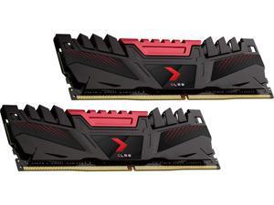 PNY XLR8 16GB (2 x 8GB) 288-Pin DDR4 SDRAM DDR4 3200 (PC4 25600) Intel XMP 2.0 Desktop Memory Model MD16GK2D4320016AXR