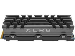 PNY XLR8 CS3040 500GB M.2NVMeGen4 x4 InternalSolid StateDrive (SSD) with Heatsink - M280CS3040HS-500-RB