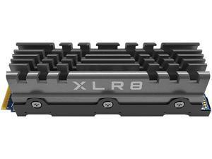 PNY XLR8 CS3040 2TB M.2 NVMe Gen4 x4 InternalSolid StateDrive (SSD) with Heatsink - M280CS3040HS-2TB-RB