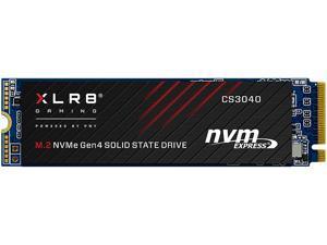 PNY XLR8 CS3040 500GB M.2NVMeGen4 x4 InternalSolid StateDrive (SSD) - M280CS3040-500-RB