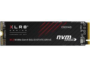 PNY XLR8 CS3140 M.2 2280 1TB PCI-Express 4.0 x4, NVMe 1.4 3D NAND Internal Solid State Drive (SSD) M280CS3140-1TB-RB