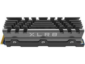 PNY XLR8 CS3140 M.2 2280 1TB PCI-Express 4.0 x4, NVMe 1.4 3D NAND Internal Solid State Drive (SSD) M280CS3140HS-1TB-RB