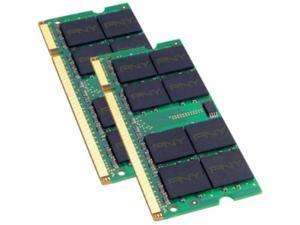 PNY 2GB (2 x 1GB) 200-Pin DDR2 SO-DIMM DDR2 667 (PC2 5300) Laptop Memory Model MN2048KD2-667