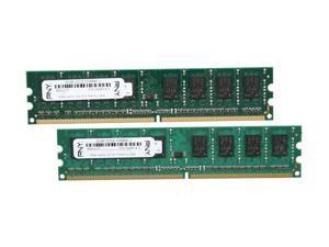 PNY Optima 4GB (2 x 2GB) 240-Pin DDR2 SDRAM DDR2 800 (PC2 6400) Desktop Memory Model MD4096KD2-800