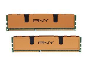 PNY Optima 8GB (2 x 4GB) 240-Pin DDR3 SDRAM DDR3 1333 (PC3 10666) Desktop Memory Model MD8192KD3-1333