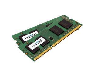 Crucial 4GB (2 x 2GB) 204-Pin DDR3 SO-DIMM DDR3 1600 (PC3 12800) Laptop Memory Model CT2KIT25664BF160B