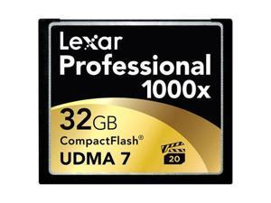 Lexar Media Professional 32 GB CompactFlash (CF) Card - 1 Card/1 Pack