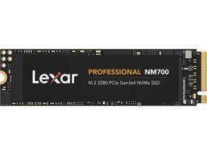 Lexar Professional NM700 M.2 2280 512GB PCIe Gen3 x4 NVMe 3D TLC Internal Solid State Drive (SSD) LNM700-512RBNA