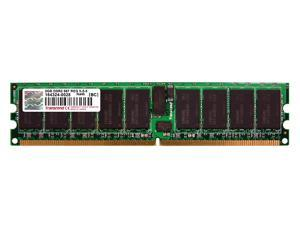 Transcend 2GB 240-Pin DDR2 SDRAM ECC Registered DDR2 667 (PC2 5300) Server Memory Model TS256MQR72V6U