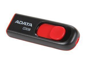 ADATA Classic Series C008 16GB Retractable USB 2.0 Flash Drive Model AC008-16G-RKD