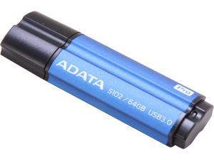 ADATA 64GB S102 Pro Advanced USB 3.0 Flash Drive, Speed Up to 100MB/s (AS102P-64G-RBL)