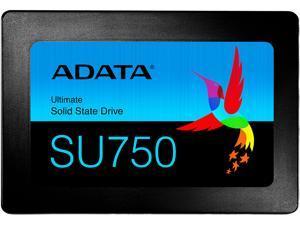 """ADATA Ultimate SU750 2.5"""" 512GB SATA III 3D TLC Internal Solid State Drive (SSD) ASU750SS-512GT-C"""