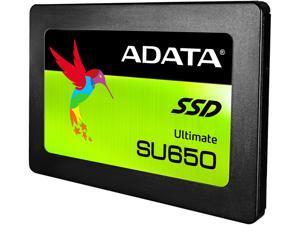 "ADATA Ultimate SU650 2.5"" 120GB SATA III 3D NAND Internal Solid State Drive (SSD) ASU650SS-120GT-C"