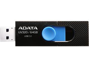 ADATA 64GB UV320 USB 3.1 Flash Drive (AUV320-64G-RBKBL)