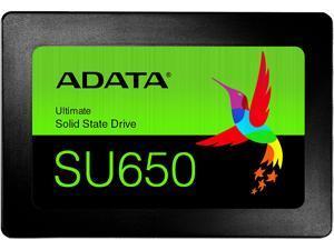 "ADATA Ultimate SU650 2.5"" 480GB SATA III 3D NAND Internal Solid State Drive (SSD) ASU650SS-480GT-R"