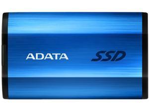 ADATA SE800 1TB IP68 Rugged - Up to 1000 MB/s - SuperSpeed USB 3.2 Gen 2 USB-C External Portable SSD Blue (ASE800-1TU32G2-CBL)