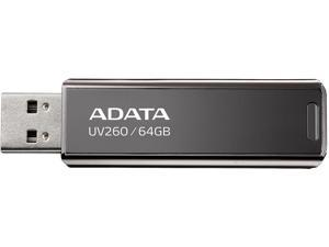 ADATA 64GB UV260 USB 2.0 Flash Drive (AUV260-64G-RBK)