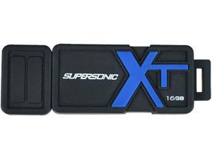 Patriot Memory 16GB Supersonic Boost XT USB 3.0 Flash Drive, Speed Up to 90MB/s Durable Rubber Housing (PEF16GSBUSB)