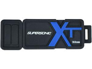 Patriot Memory 32GB Supersonic Boost XT USB 3.0 Flash Drive, Speed Up to 150MB/s Durable Rubber Housing (PEF32GSBUSB)
